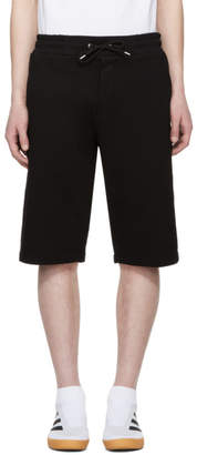 McQ Black Logo Sweat Shorts
