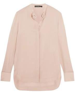 Alexander McQueen Silk-Georgette Shirt