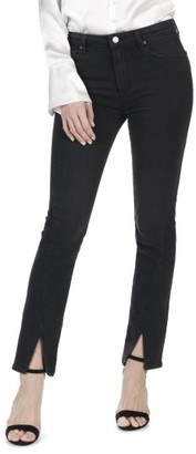 Women's Paige Julia High Waist Straight Leg Jeans With Twisted Seams $229 thestylecure.com