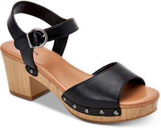 d6e7f8e6efa Style   Co Anddreas Platform Block-Heel Sandals