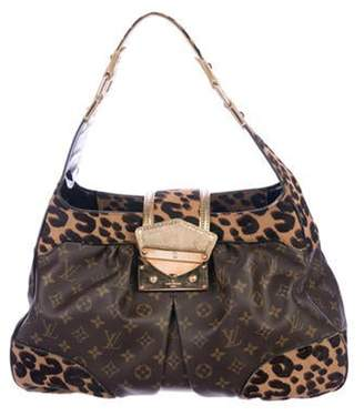 Louis Vuitton Monogram Leopard Polly Bag Brown Monogram Leopard Polly Bag