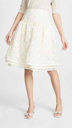 Marc Jacobs Layered Polka Dot Tulle Skirt