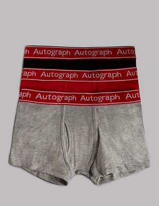 Marks and Spencer Cotton Trunks with Stretch (4-16 Years)