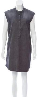 The Kooples Chambray Mini Dress