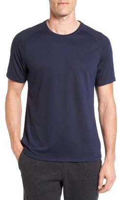 Men's Zella 'Celsian' Moisture Wicking Stripe T-Shirt $39 thestylecure.com