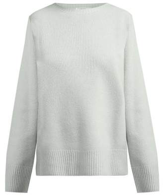 The Row Sibel Wool And Cashmere Blend Sweater - Womens - Light Green 1a2d26acdc
