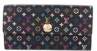 Louis Vuitton Multicolore Sarah Wallet