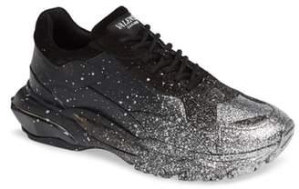 Valentino Bounce Paint Splatter Sneaker