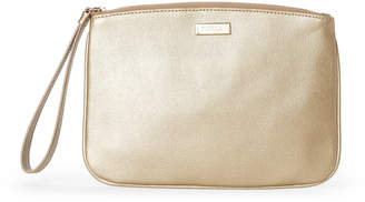 Furla Gold Joli Leather Zip Pouch