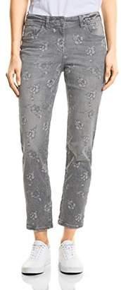 Cecil Women's 371549 Charlize Slim Jeans,26W x 28L