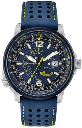 Citizen Mens Blue Strap Watch-Bj7007-02l
