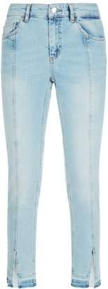 SET Seam-Detail Skinny Jeans