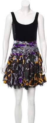 Miu Miu Printed Mini Dress