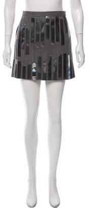 Chloé Wool Mini Skirt