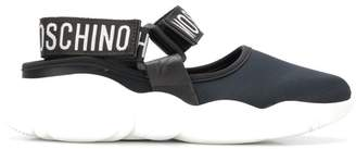 Moschino Teddy run stretch sneakers