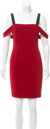 Cinq à Sept Square Neck Sheath Dress w/ Tags $95 thestylecure.com