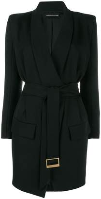 Alexandre Vauthier belted blazer dress