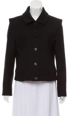Derek Lam Wool Button-Up Jacket