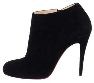 621f0deb75e1 Christian Louboutin Suede Booties - ShopStyle