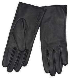 Calvin Klein Leather and Suede Gloves
