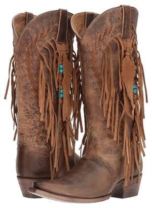 Ariat Brisco Fringe Cowboy Boots
