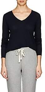 Skin Women's Organic Cotton Long-Sleeve T-Shirt-Navy