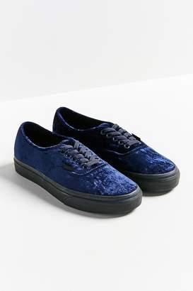 Vans Velvet Authentic Sneaker