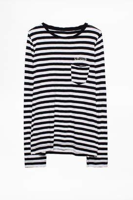 Zadig & Voltaire Regy Stripes T-Shirt