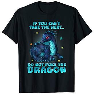 Dragon Optical Do Not Poke The  Shirt For Women Men