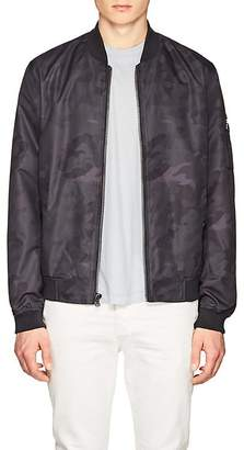 Michael Kors MEN'S MA-1 CAMOUFLAGE TECH-FAILLE BOMBER JACKET
