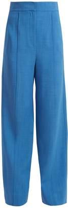 Roksanda Lapari pintucked wide-leg trousers
