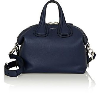 Givenchy Women's Nightingale Small Satchel-NAVY $2,190 thestylecure.com