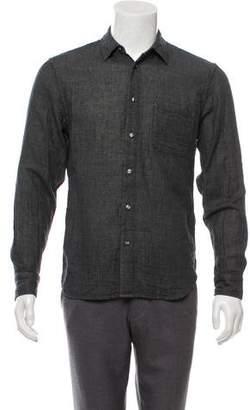 Kato Shirt Hiroshi Woven Button-Up Shirt