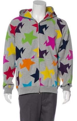 BAPE Star Print Full-Zip Hoodie w/ Tags
