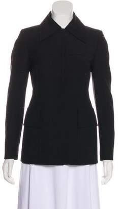 Gucci Virgin Wool Zip-Up Jacket