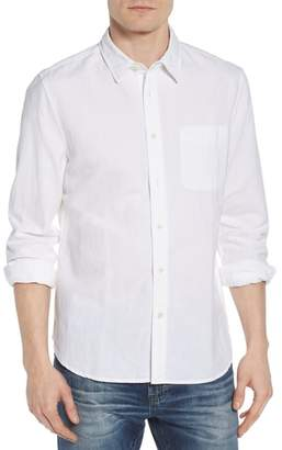 AG Jeans Colton Regular Fit Cotton & Linen Sport Shirt