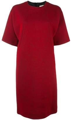 Lanvin dropped shoulder dress