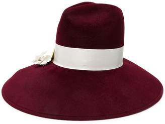 Gucci wide brim bow hat