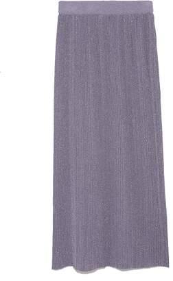 Snidel (スナイデル) - スナイデル ラメニットプリーツスカート
