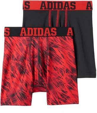adidas Boys 2-pack Climalite Performance Boxer Briefs
