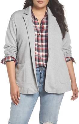 Caslon Double Pocket Knit Blazer