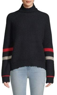 Zadig & Voltaire Textured Stripe Sweater
