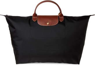 Longchamp Black Le Pliage Travel Bag