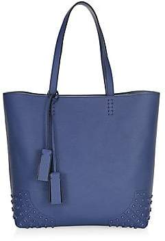 Tod's Women's Gommino Leather Stud Tote