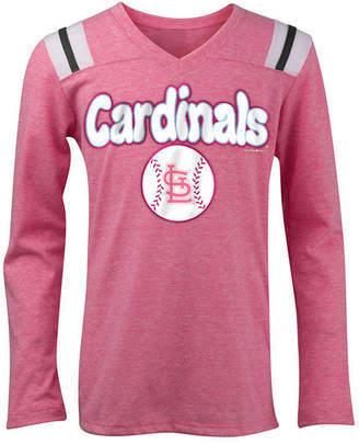 5th & Ocean St. Louis Cardinals Long Sleeve Retro T-Shirt, Girls (4-16)