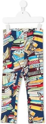 Simonetta book print leggings