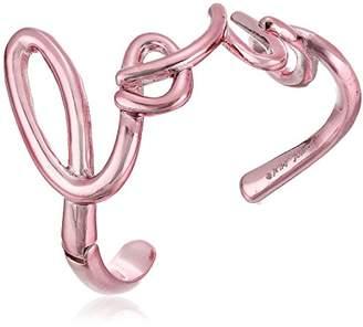 Betsey Johnson Women's Love Cuff Bracelets