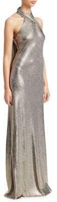 Pandora Galvan Halterneck Gown