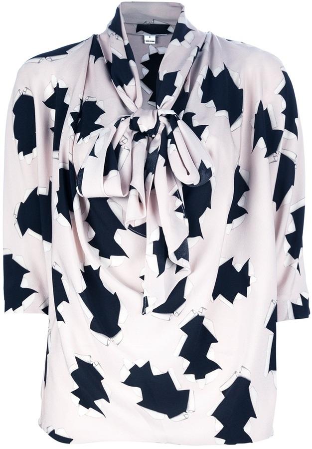 Diane von Furstenberg 'Theresa' silk blouse