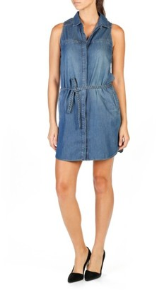 Women's Paige Eugenie Denim Shirtdress $199 thestylecure.com